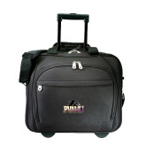 Embassy Plus Rolling Black Compu Brief-Official Logo