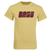 Champion Vegas Gold T Shirt-Roos Full Color