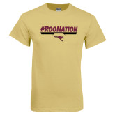 Champion Vegas Gold T Shirt-RooNation