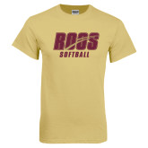 Champion Vegas Gold T Shirt-Softball