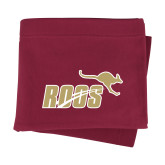 Maroon Sweatshirt Blanket-Primary Mark 2 Color