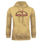 Champion Vegas Gold Fleece Hoodie-Football Arched Design