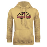Champion Vegas Gold Fleece Hoodie-Basketball Half Ball Design