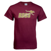Maroon T Shirt-Primary Mark Full Color