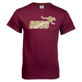 Maroon T Shirt-Primary Mark 2 Color