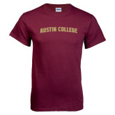 Maroon T Shirt-Arched Austin College