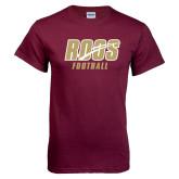 Maroon T Shirt-Football