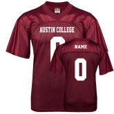 Replica Maroon Adult Football Jersey-Personalized