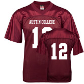 Replica Maroon Adult Football Jersey-#12