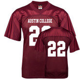 Replica Maroon Adult Football Jersey-#22