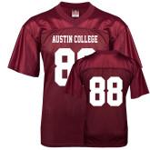 Replica Maroon Adult Football Jersey-#88