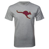 Grey T Shirt-Roo Icon
