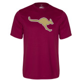 Performance Maroon Tee-Roo Icon