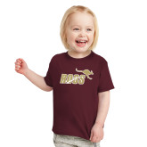 Toddler Maroon T Shirt-Primary Mark 2 Color
