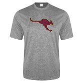 Performance Grey Heather Contender Tee-Roo Icon