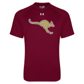 Under Armour Maroon Tech Tee-Roo Icon