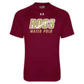 Under Armour Maroon Tech Tee-Water Polo
