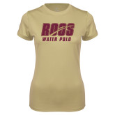 Ladies Syntrel Performance Vegas Gold Tee-Water Polo