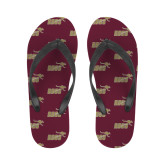 Ladies Full Color Flip Flops-Primary Mark Full Color