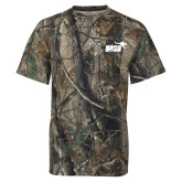 Realtree Camo T Shirt-Primary Mark 1 Color
