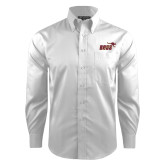Red House White Dobby Long Sleeve Shirt-Primary Mark 2 Color
