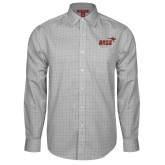 Red House Grey Plaid Long Sleeve Shirt-Primary Mark 2 Color