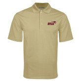 Vegas Gold Mini Stripe Polo-Primary Mark 2 Color