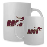 Full Color White Mug 15oz-Primary Mark Full Color