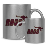 Full Color Silver Metallic Mug 11oz-Primary Mark Full Color
