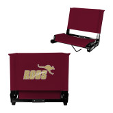 Stadium Chair Maroon-Primary Mark Full Color