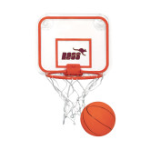 Mini Basketball & Hoop Set-Primary Mark Full Color