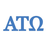 Large Decal-ATO Greek Letters, 12in W