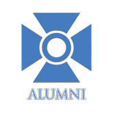Alumni Decal-Cross, 6in W