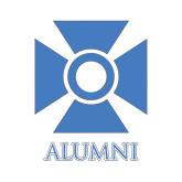 Alumni Decal-Cross, 6in W