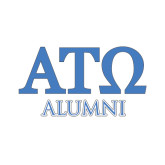 Alumni Decal-ATO Greek Letters, 6in W