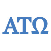 Extra Large Decal-ATO Greek Letters, 18in W