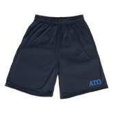 Performance Classic Navy 9 Inch Short-ATO Greek Letters