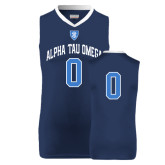 Replica Navy Adult Basketball Jersey-Personalized w/Number