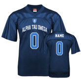Replica Navy Adult Football Jersey-Personalized w/Name and Number
