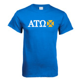 Royal T Shirt-Greek Letters with Cross