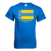 Royal T Shirt-Distressed Flag
