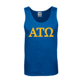 Royal Tank Top-ATO Greek Letters
