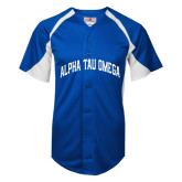 Replica Royal Adult Baseball Jersey-Generic