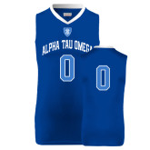 Replica Royal Adult Basketball Jersey-Personalized w/Number