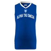 Replica Royal Adult Basketball Jersey-Generic