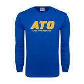 Royal Long Sleeve T Shirt-ATO Love and Repect