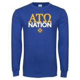 Royal Long Sleeve T Shirt-ATO Nation