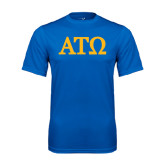 Performance Royal Tee-ATO Greek Letters