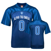 Replica Royal Adult Football Jersey-Personalized w/Number