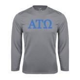 Performance Steel Longsleeve Shirt-ATO Greek Letters